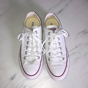 Converse all-star size women's 8 white sneaker
